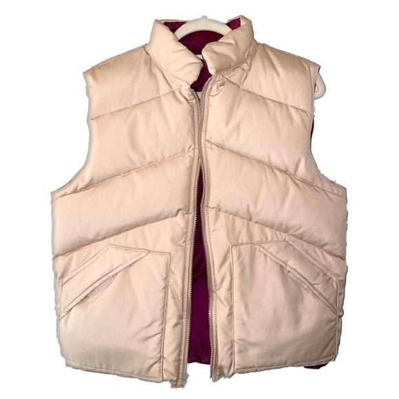 Rare- Men's Khaki Down Feather Puffer Vest